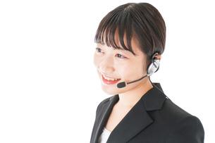 オペレーター・お客様相談室の女性の写真素材 [FYI04719143]