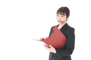 オペレーター・お客様相談室の女性の写真素材 [FYI04719158]