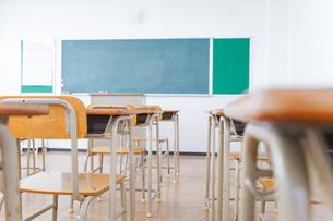学校の教室イメージの写真素材 [FYI04721223]
