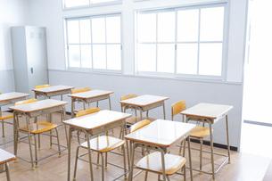 学校の教室イメージの写真素材 [FYI04721228]