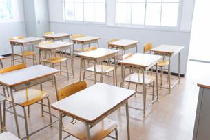 学校の教室イメージの写真素材 [FYI04721229]