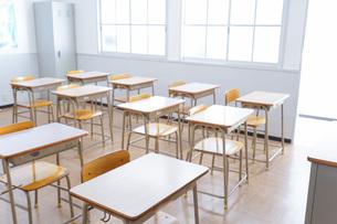 学校の教室イメージの写真素材 [FYI04721230]