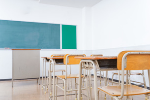 学校の教室イメージの写真素材 [FYI04721231]