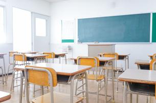 学校の教室イメージの写真素材 [FYI04721243]