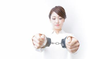 刑務所・逮捕イメージの写真素材 [FYI04721279]