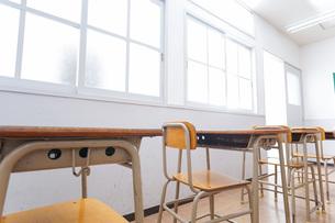 学校の教室イメージの写真素材 [FYI04721298]