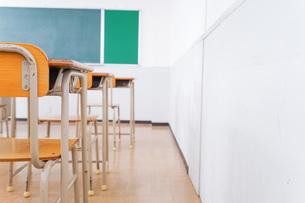 学校の教室イメージの写真素材 [FYI04721310]
