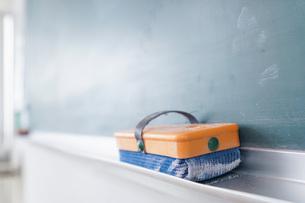 誰もいない学校の教室の写真素材 [FYI04721314]