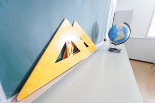 誰もいない学校の教室の写真素材 [FYI04721321]