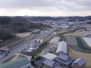 日本の田園風景ドローン撮影・淡路島の写真素材 [FYI04721691]