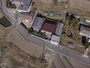 日本の田園風景ドローン撮影・淡路島の写真素材 [FYI04721696]