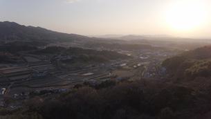 日本の田園風景ドローン撮影・淡路島の写真素材 [FYI04721717]