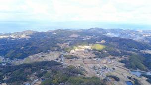 日本の田舎風景・ドローン撮影の写真素材 [FYI04721819]