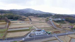 日本の田舎風景・ドローン撮影の写真素材 [FYI04721835]