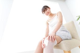 足のケガの写真素材 [FYI04721914]