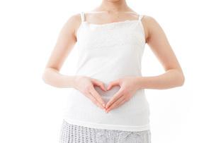 妊娠した女性の写真素材 [FYI04721924]