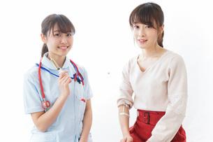 注射・予防接種の写真素材 [FYI04722252]