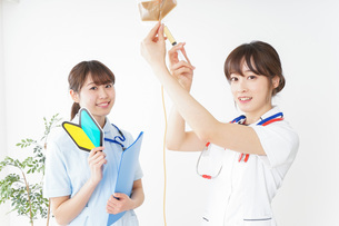 若手の看護師の写真素材 [FYI04722539]