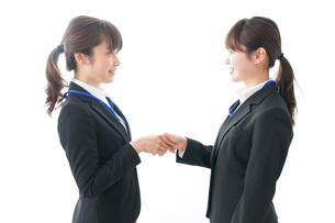 握手をするビジネスパーソンの写真素材 [FYI04722726]