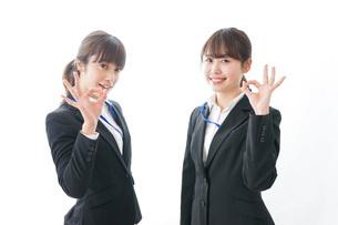 二人の若手ビジネスウーマンの写真素材 [FYI04722749]