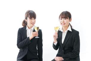 飲み会をする若手社員の写真素材 [FYI04722921]