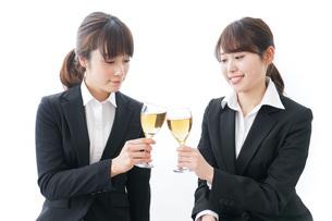 飲み会をする若手社員の写真素材 [FYI04722923]