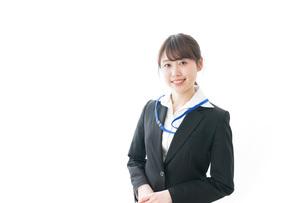 笑顔のビジネスパーソン・受付嬢の写真素材 [FYI04723332]