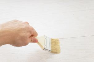 ペンキ塗り・DIYの写真素材 [FYI04723370]