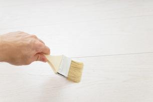 ペンキ塗り・DIYの写真素材 [FYI04723391]