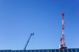 タワークレーン・建設ラッシュの写真素材 [FYI04723547]