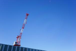タワークレーン・建設ラッシュの写真素材 [FYI04723548]