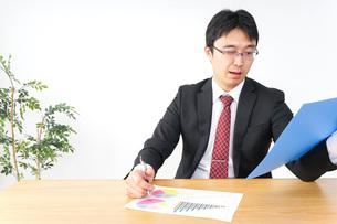 決算・監査・粉飾決算の写真素材 [FYI04724086]