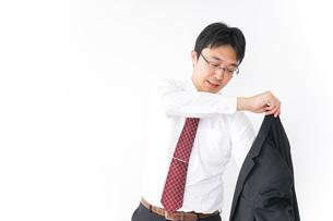 多忙なビジネスマンの写真素材 [FYI04724273]