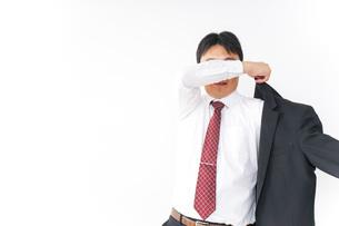 多忙なビジネスマンの写真素材 [FYI04724274]