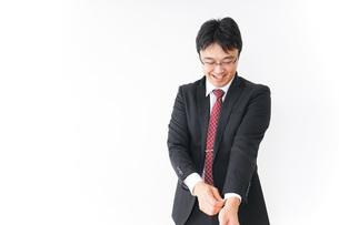 多忙なビジネスマンの写真素材 [FYI04724279]
