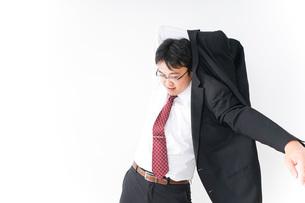 多忙なビジネスマンの写真素材 [FYI04724284]