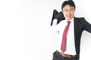 多忙なビジネスマンの写真素材 [FYI04724286]