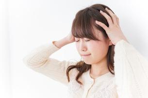 頭痛の写真素材 [FYI04724488]