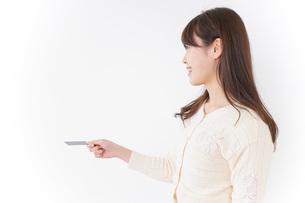 クレジットカード支払いの写真素材 [FYI04724489]