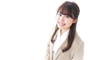 笑顔の若いビジネスウーマンの写真素材 [FYI04724511]
