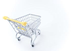 ショッピングカートの写真素材 [FYI04724558]