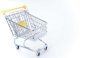 ショッピングカートの写真素材 [FYI04724559]