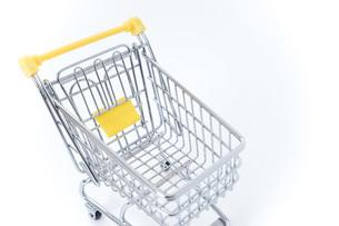 ショッピングカートの写真素材 [FYI04724560]