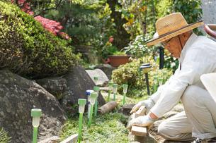土木工事をする高齢の男性の写真素材 [FYI04724860]