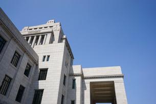 日本の国会議事堂の写真素材 [FYI04724973]