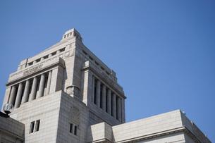 日本の国会議事堂の写真素材 [FYI04724977]
