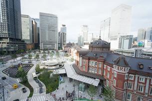 東京駅の写真素材 [FYI04725281]