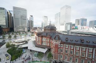 東京駅の写真素材 [FYI04725283]