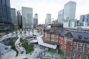 東京駅の写真素材 [FYI04725285]