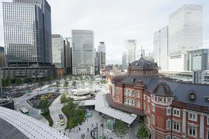 東京駅の写真素材 [FYI04725288]